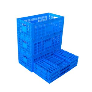 collapsible storage crates plastic