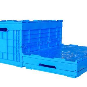 fold flat plastic boxes