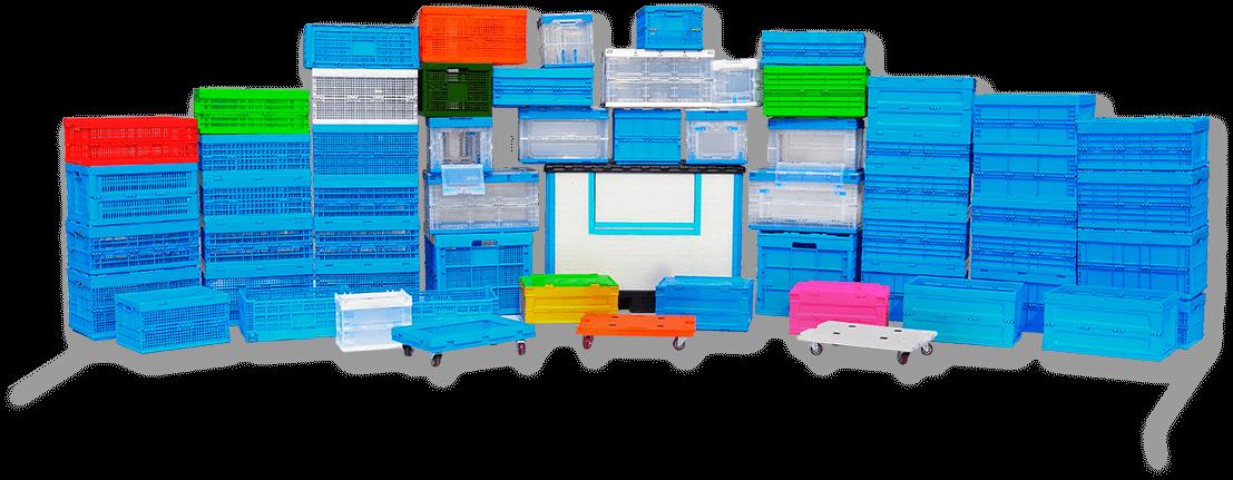 folding crates series