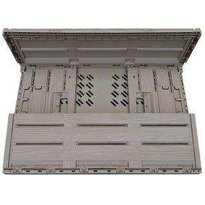 plastic foldable crate