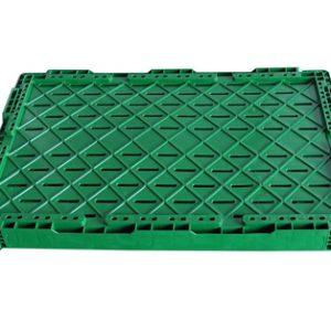 plastic folding tote boxes
