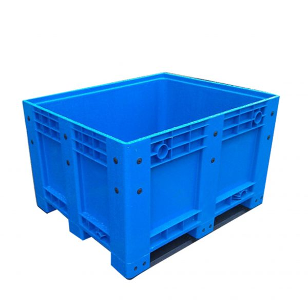 plastic pallet box with lid
