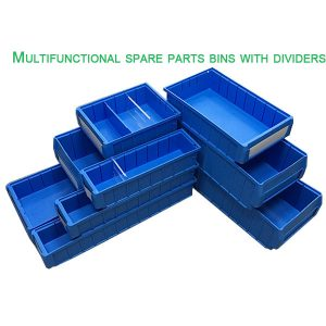 plastic shelf bin boxes