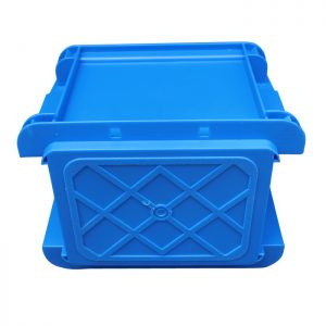 plastic stacking storage crates